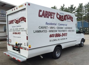 box truck lettering