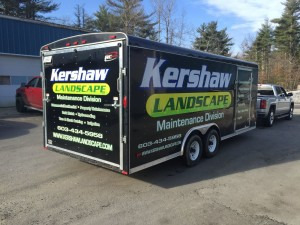 Trailer lettering NH