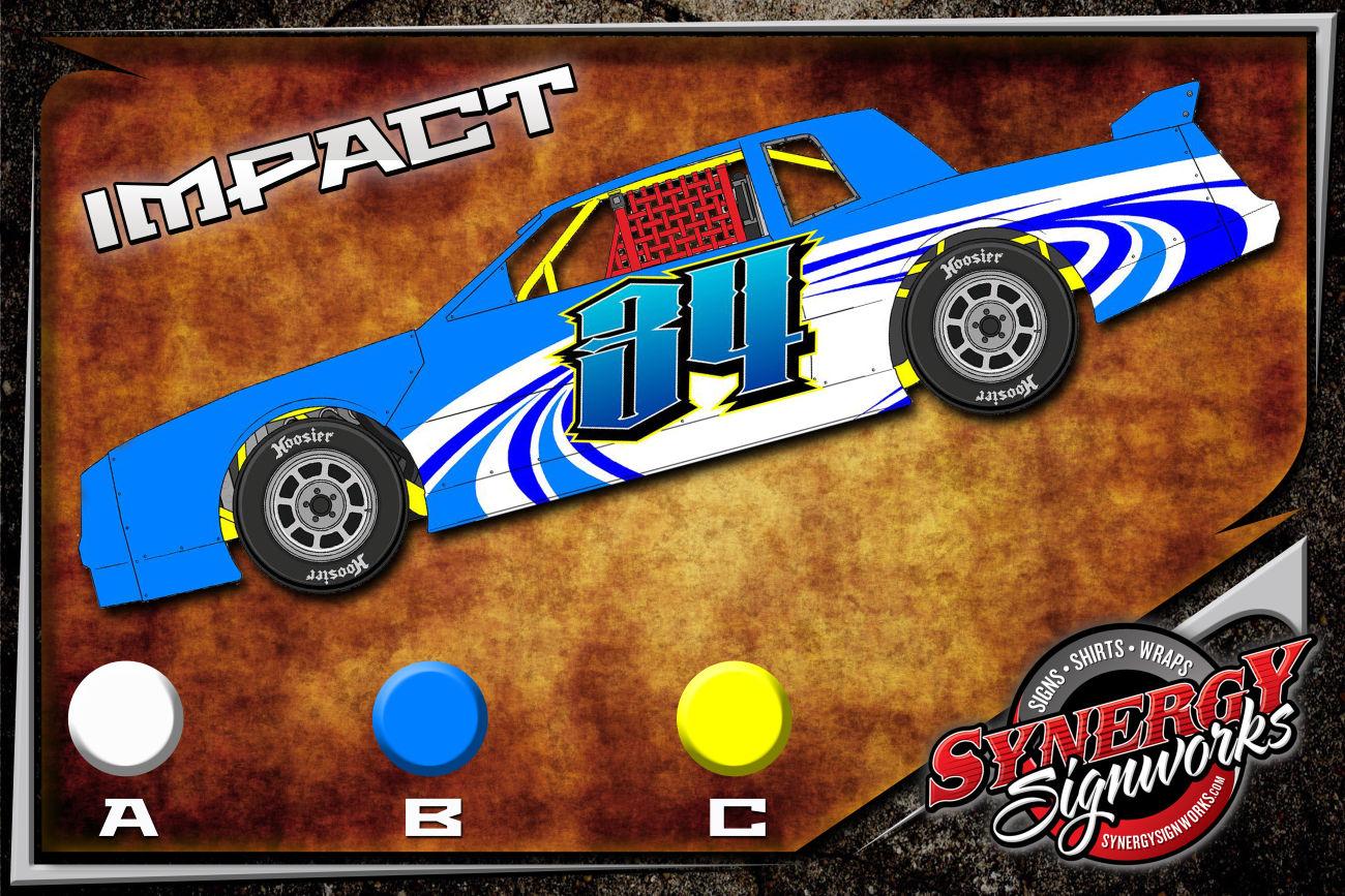 Impact Racing Wrap