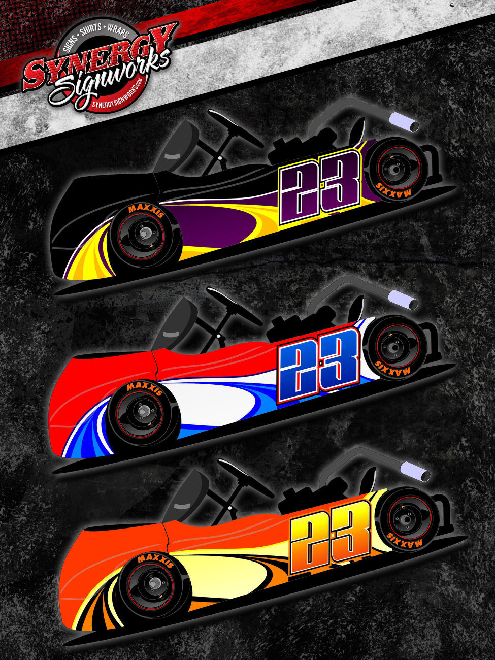 Rage Racing Wrap